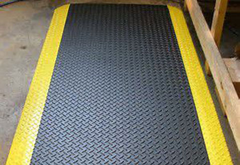 Chequer Top Roll Matting