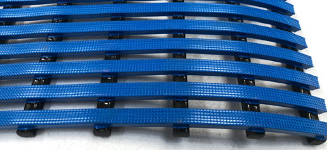 Rubber and PVC Drainage Mats
