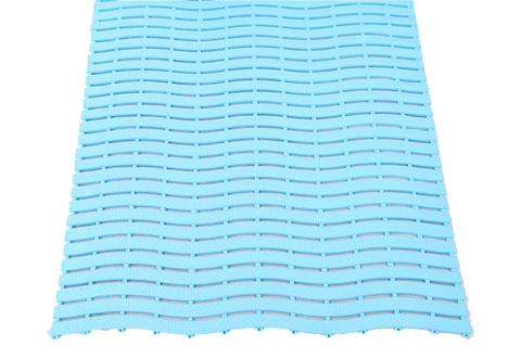 Wave Pattern PVC Matting