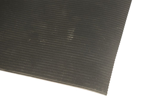 Castellated Pattern Rubber Matting