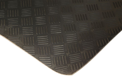 Chequer Pattern Rubber Matting