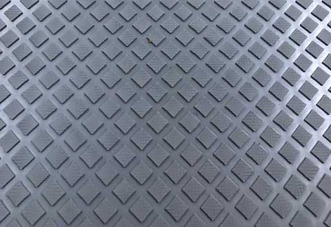 Rhombus Pattern Rubber Matting