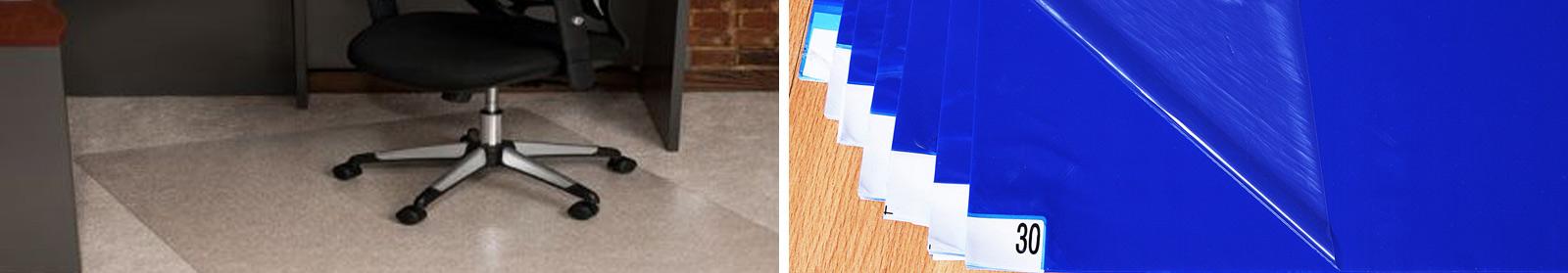 Desk Chair Mats & Hygienic Tacky Mats