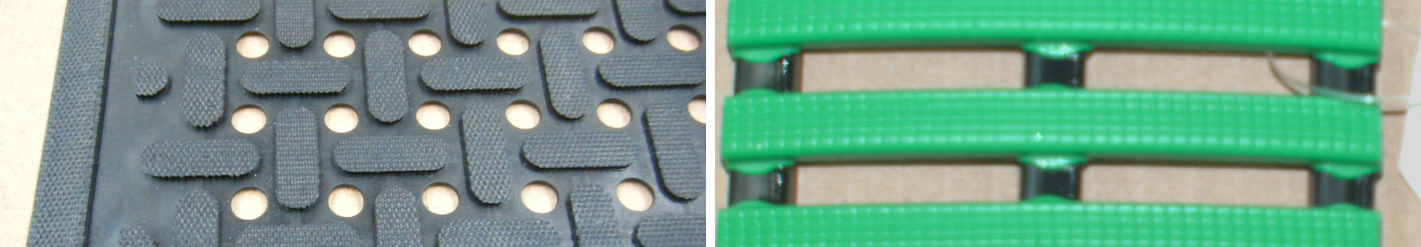 Rubber & PVC Drainage Mats