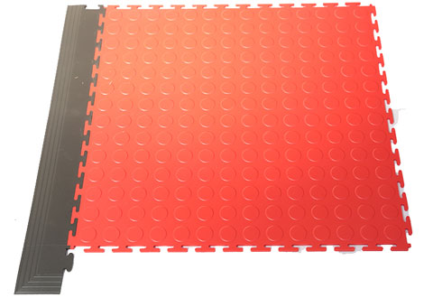 Suremat Circle Stud PVC Interlocking Tiles