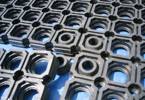 Suredrain Ring Connectible Rubber Mats