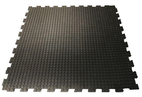 Surelok Stud Interlocking Rubber Tiles
