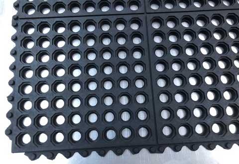 Surelok Octo Interlocking Rubber Tiles