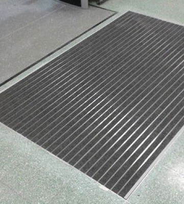 Surewalk Stratos Rib Panel Aluminium Entrance Matting